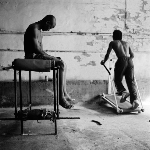 Hanson And Derrick, Geores Boxing Club, Hillbrow, 2005