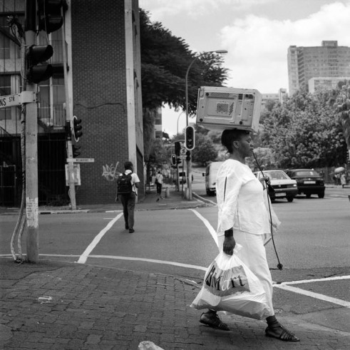 Microwave Pedestrian, Coner Nugget and Wolmarans Street, Hillbrow