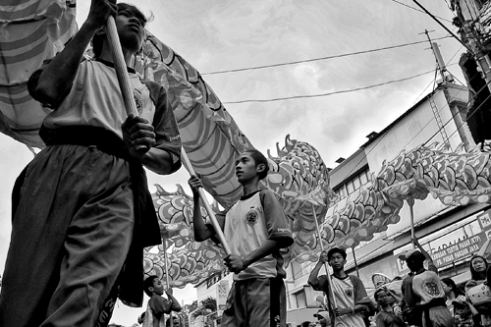 Cap Go Meh Celebration Usually held during the Chinese New Year. Bogor, West Java. Indonesia