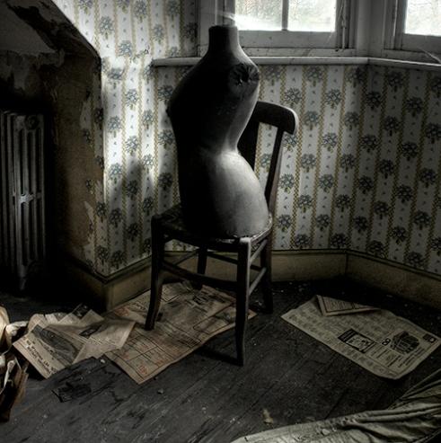 A mannequin in a bedroom Belgium