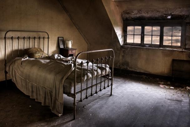 Bedroom on the servant's floor Belgium