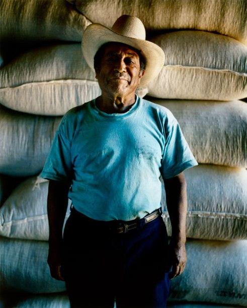Vinicio Alpuac, president of small Fairtrade coffee cooperative Fedecocagua Guatemala