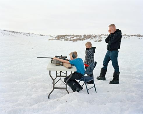 Kai, Jed, Daniel, .243 Rifle
