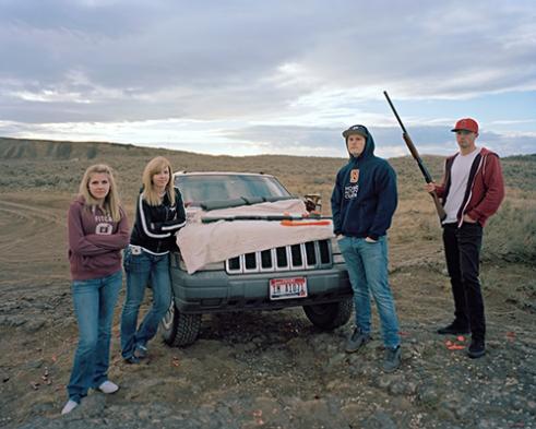 Alyssa, Courtney, Josh, Colten, Remington 12 Gauge
