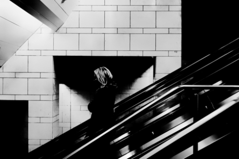 You had enough of me? Sweet Dark NYC Subway