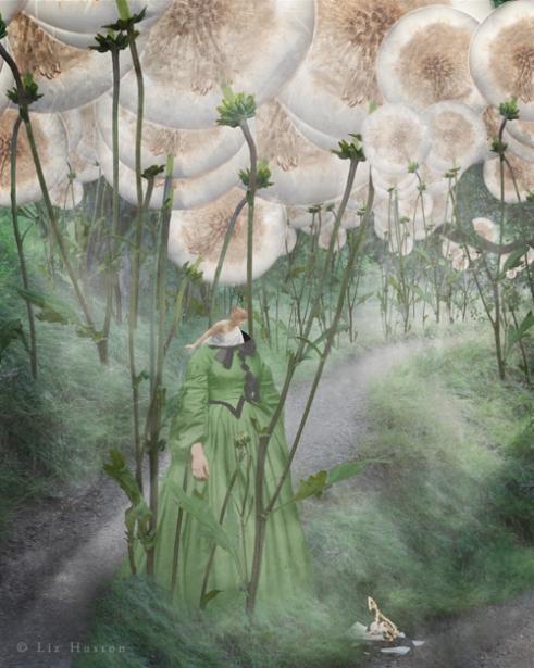 """In Case of Emergency (Break Glass)"" Mixed Media: Digital Painting, Photomontage, Watercolor"