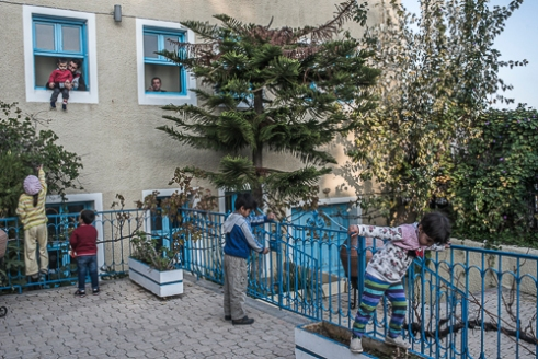 Hotel Accommodating, Chios - Greece. | The atmosphere is noticeably better in the hotels. Children are more happy, the parents more relaxed. People have more privacy, security and feel more human.