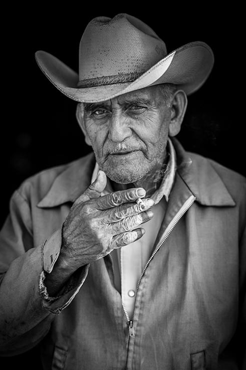Smoking Cowboy
