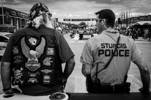 Coming together as one at Sturgis.