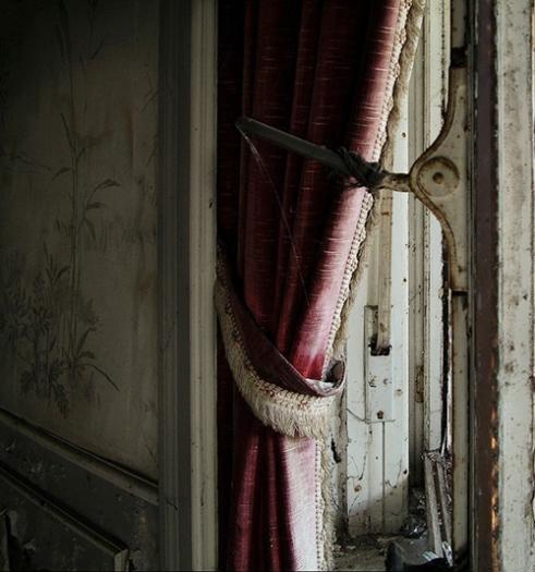 Window of a mansion Belgium