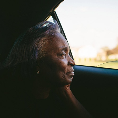"""Claudette Jackson grew up in West Calumet. In 1983, she moved her young family to the housing complex where they still live. After a fruitless search for an apartment in Northwest Indiana, she's stopped looking. """"Everybody's trying to move out of here at one time. Where are you going to go? There's nowhere,"""" she said.      The West Calumet Housing Complex, which is currently home to about 1,200 people, is located on a 79-acre Environmental Protection Agency Superfund site where a USS Lead facility was located in East Chicago, Indiana. Up until 1985, a lead refinery, a copper smelter and a secondary lead smelter were also in the area. The houses were built between the late 1960s and early 1970s. East Chicago is zoned close to 80 percent heavy industrial, and the local government relies on the patronage, jobs and tax revenue that the oil and steel industries bring. However, many jobs disappeared when the steel industry modernized and shifted overseas in the late 20th century, leading to extensive job loss for the working class. People there have a long, complicated relationship with industry -- and its environmental legacy will affect generations to come."""