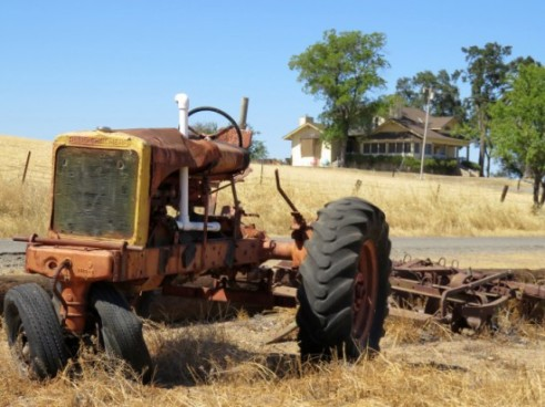 a-weathered-tractor