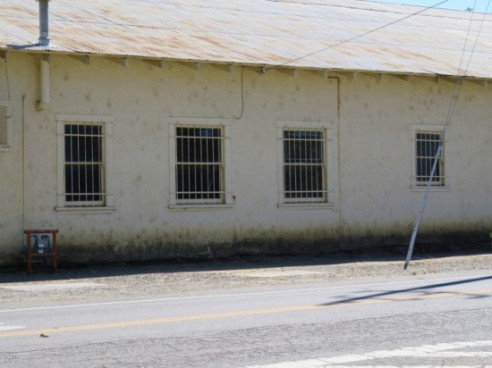 Downtown Esparto, Across from High School