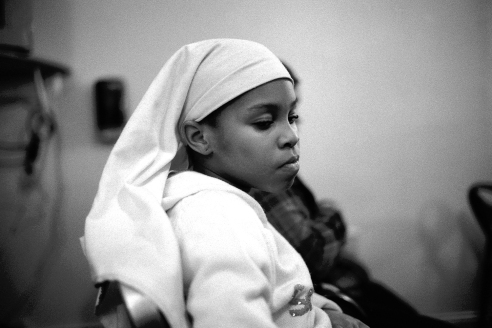 Young Women at Friday Afternoon Prayers, Masjid Quba, Philadelphia, PA 2012