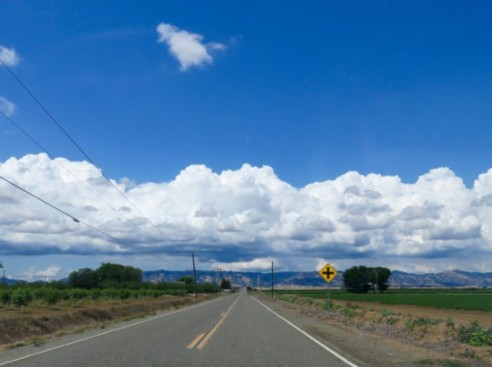 The Road Out of Town Davis, California