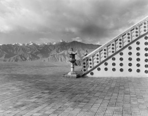 Shanti Stupa (Peace Pagoda) Ladakh, India